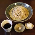 手打ち蕎麦 かね井 - 荒挽きそば (2014/01)
