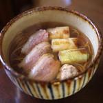 手打ち蕎麦 かね井 - 鴨なんば (2014/01)