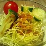 高倉町珈琲 - セットのサラダ