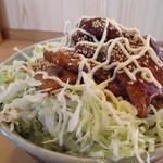 京風 里のうどん - 名物 バラ丼