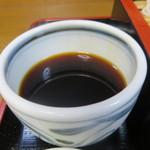 麺どころ かとう - そばつゆ