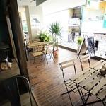 うるとらカフェ - テラス席