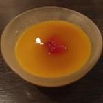 中国料理 桃翠 - マンゴープリン。