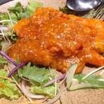 中国料理 龍 - 乾焼蝦仁(ぷりぷり海老のチリソース)1260円