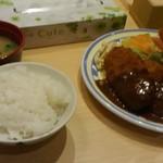 洋食屋 双平 - ミックスフライ定食