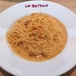 ラ・ベットラ・ダ・オチアイ・トヤマ - ウニのスパゲティ