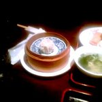 桃里 - 桃里定食に付いている本日の蒸し物