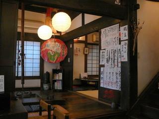 鷹匠つむらや  - 店内の雰囲気@2009/9