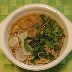 セブンイレブン - 料理写真:七草そば