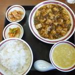 福来苑 - 麻婆豆腐定食850円