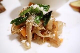 食楽 旨い肴 - 根菜と挽肉のイタリアンきんぴら