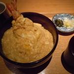 京うどん 生蕎麦 岡北 - 天とじ丼1200円♪参考までに(・∀・)♪