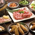 てば壱 - 料理写真:手羽先と焼肉の宴会プラン