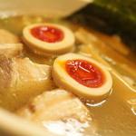 中華そば 華丸 - 味玉そばアップ☆