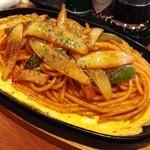 とむ - 鉄板「スパゲッティー」アップ