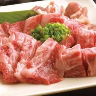 富山駅前店では焼肉や串揚げ、赤もつ鍋もご用意しております。