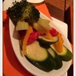 クラフトビアサーバーランド - 野菜のピクルス 2014.1