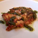 IL CAVALLO - ランチ 鯖とナスの重ね焼き バジリコ風味