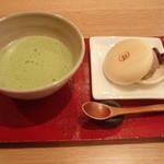 23740291 - ほうじ茶アイス(抹茶付)