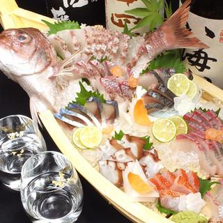 明石直送の鮮魚を食べたいなら当店へ!