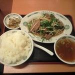 23743717 - ニラレバ炒め定食 ご飯大盛り 700円