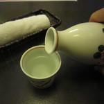 道心 - 「燗酒」(銘柄不明)