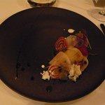 レストラン マノワ - 平貝と帆立のロティ(2014.1)
