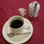 グリル グランド - 食後のコーヒー カップが熱々です