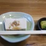 かつ善 - 豆腐
