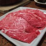 小島 - 料理写真:焼き肉としゃぶしゃぶのコース(3,500円)