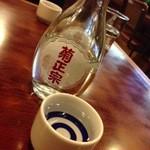 千石ラーメン - 日本酒400円