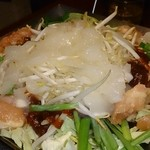 とりでん - 国産鶏のチリトリ鍋~プルプルコラーゲン入り~ <1人前>990円