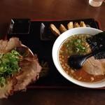 麺空海 - 本気出せよ定食
