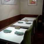 サン・ヴァンサン - テーブル席