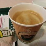 サブウェイ - コーヒーはセットで100円