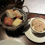 Petit - 「木もれび」さんのパンとリエット