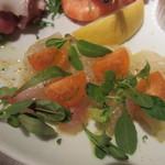 Petit - 真鯛のクリュ カラスミ風味