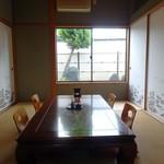 Hatsumizushi - 座敷席です
