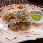 なか井 - 自然薯のすりみ天ぷら