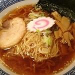 ぶぶか - あっさり醤油らーめん(600円)+大盛り(100円)
