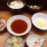 とんかつ 安右衛門 - 天ぷらセット!?