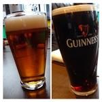Kerutsu - カシスソーダやバスペールエール(ハーフ)、、スーパードライなどそれぞれ好きなお酒を頂きました。             ビールも美味しいらしい・・