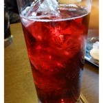 Kerutsu - カシスソーダは軽く飲みやすいですね。