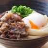 いきいきうどん - 料理写真:温玉肉ぶっかけ