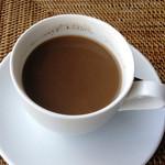 プリサヤン - バリコーヒー・かき混ぜ&沈殿後