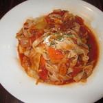 詩知里屋 - 幅広麺のボロネーゼ