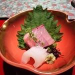 京懐石 りほう - お刺身、新鮮です。