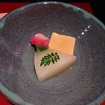 京懐石 りほう - 大根によく味が沁みてました。