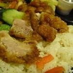チャンロイ - お兄さんの最初の説明は「鶏の揚げた物」、あはは!