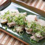 アメ村社員食堂 - 自家製蒸し豚